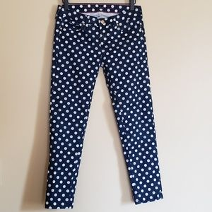 Kate Spade Black Dotted Broome Street Jeans